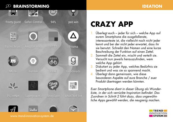 Crazy App - zum Vergrößern anklicken!