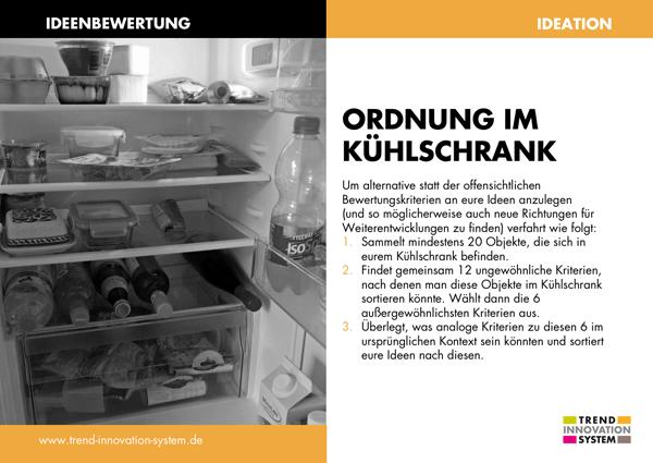 Ordnung im Kühlschrank - zum Vergrößern anklicken!