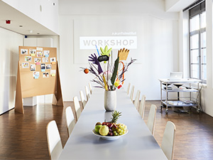 Unser Workshopraum