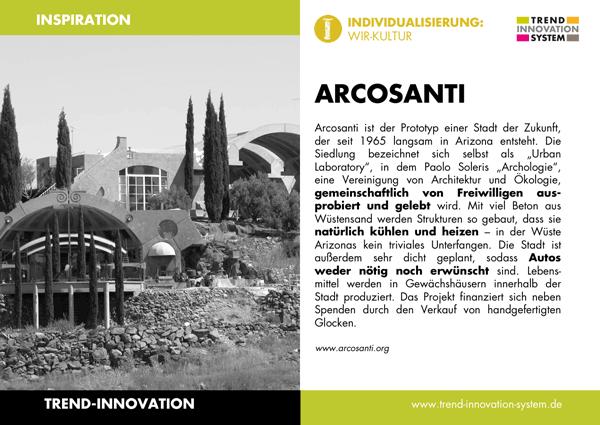 Arcosanti - Zum Vergrößern anklicken!