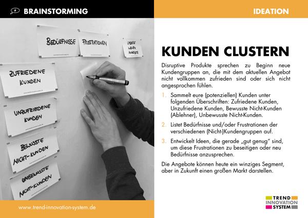 Kunden clustern - zum Vergrößern anklicken!